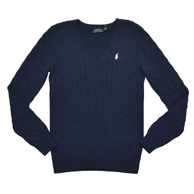 vasta selezione di a6a51 2cb8f Polo Ralph Lauren, pullover con scollo a V, Kimberly Navy
