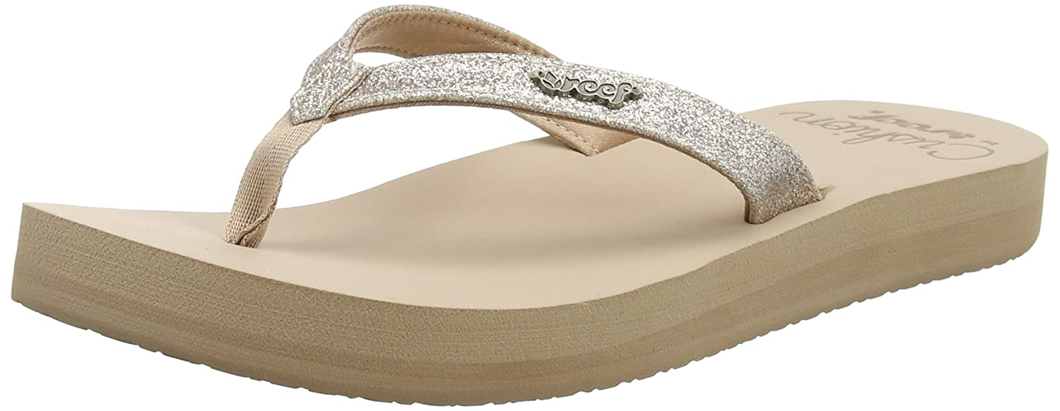84af5c8906 Amazon.com | Reef Women's Star Cushion Sandal Sandal | Flip-Flops