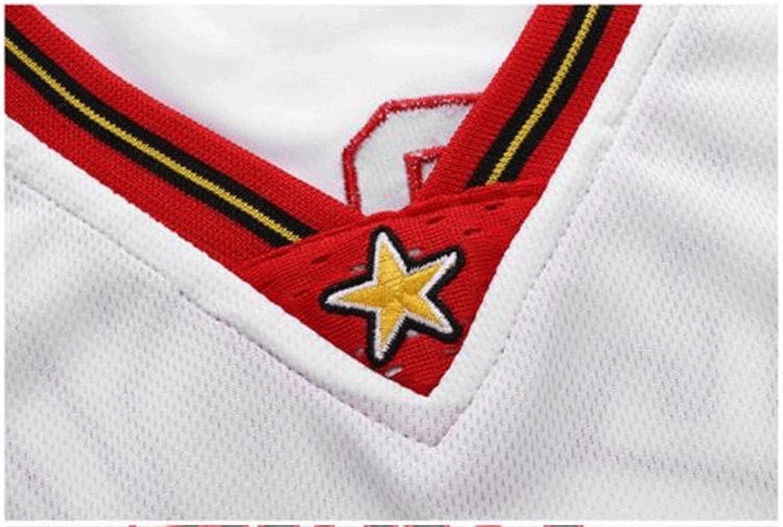 Camiseta De Baloncesto para Hombre Iverson Retro # 3 Jersey Entrenamiento Fitness Transpirable Camiseta Chaleco