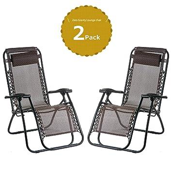 Ocio zona® silla plegable reclinable silla reclinable salón patio ...