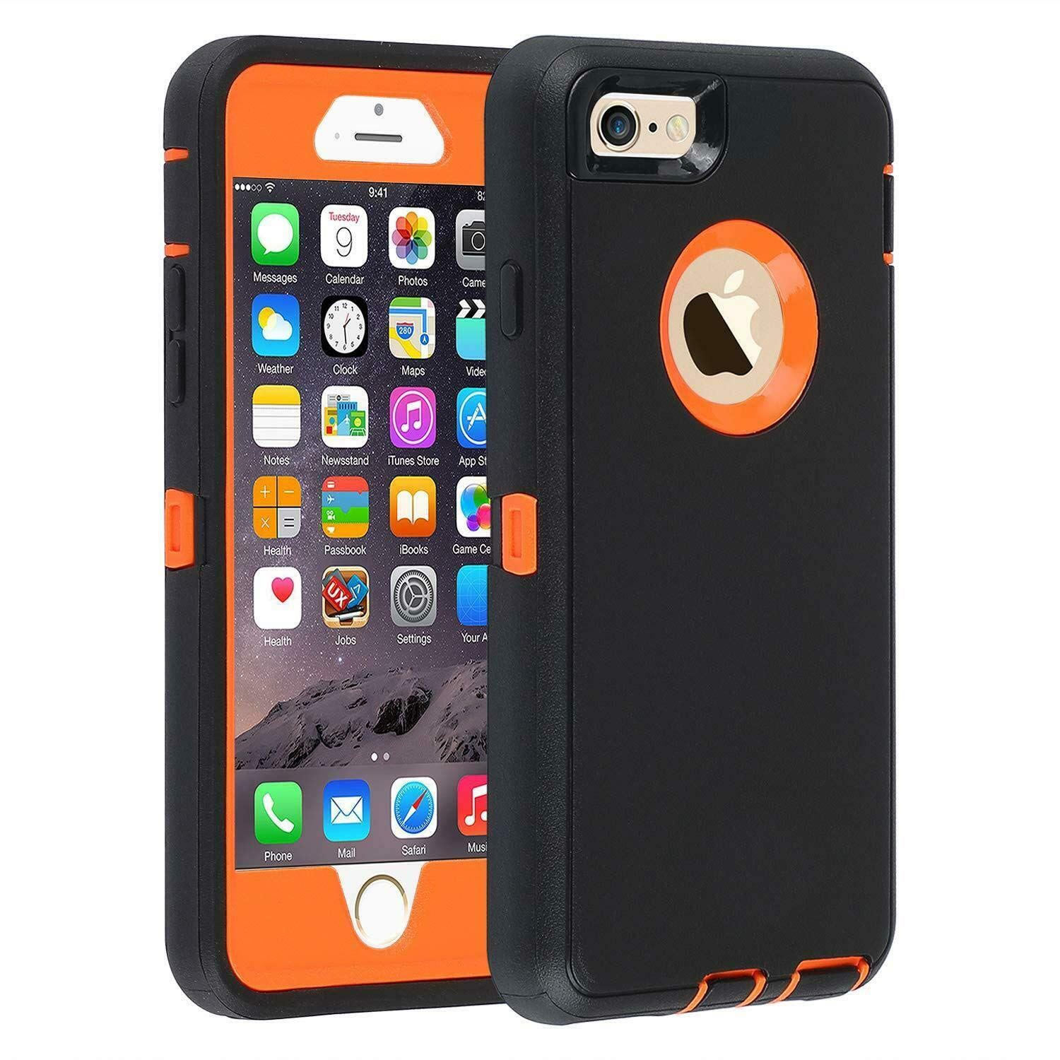 huge selection of 2dcba 41623 Amazon.com: HUANZHAN Heavy Duty Rugged Builders Shockproof Case ...