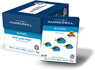 product image for Hammermill Printer Paper, 20 lb Copy Paper, 8.5 x 11-10 Ream (5,000 Sheets) - 92 Bright, Made in the USA