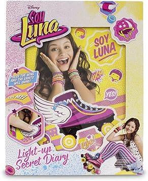 Soy Luna - Diario Secreto con luz (Giochi Preziosi YLU27000): Amazon.es: Juguetes y juegos