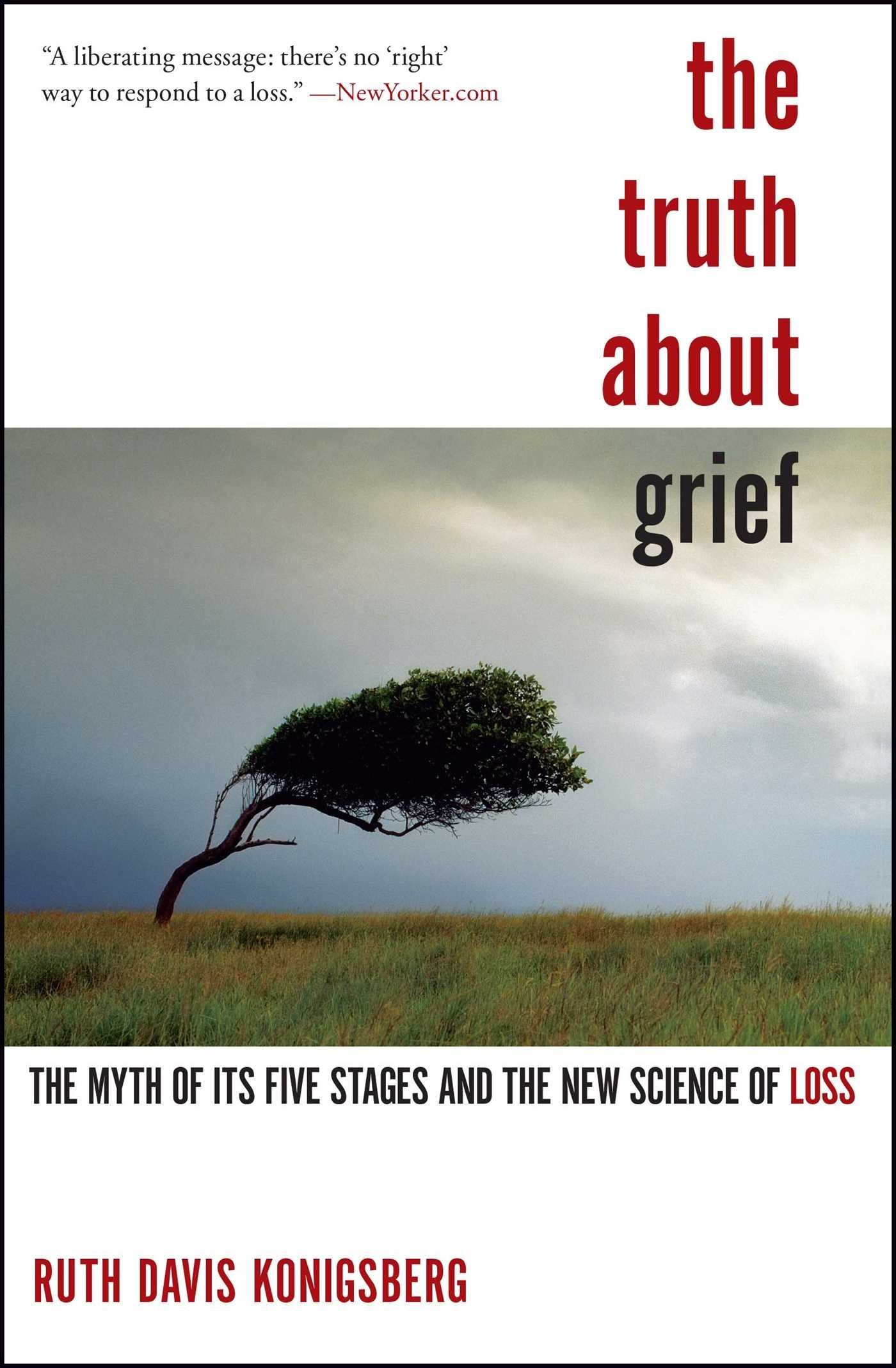 the truth about grief the myth of its five stages and the new