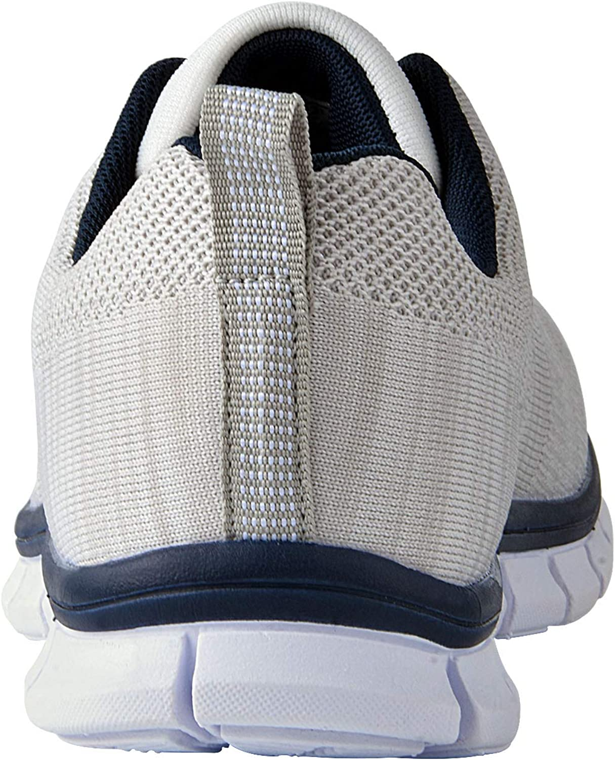 Knixmax Basket Femme Homme Chaussure de Sport Running Confortable Fitness Mode Sneakers Homme Blanc