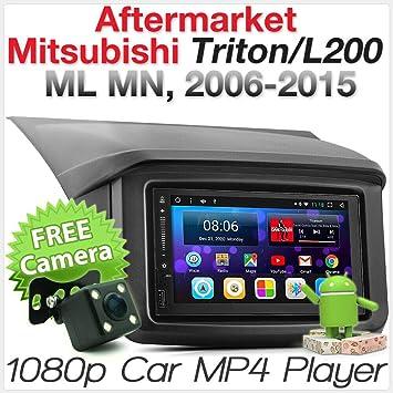 Tunez Android Voiture Lecteur MP3/Autoradio pour Mitsubishi Outlander 2007 2010/kit d