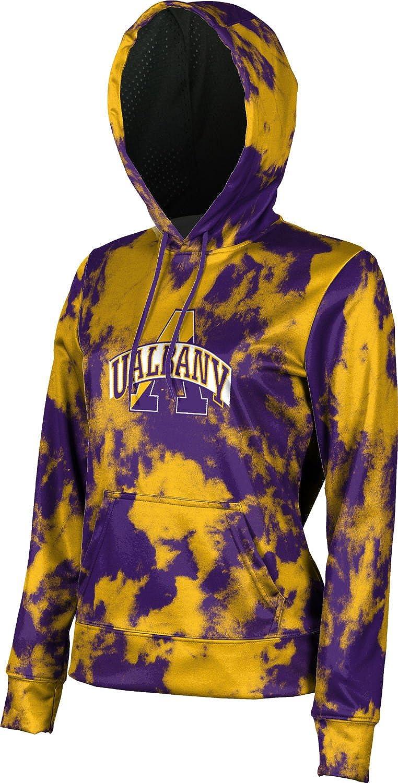 Grunge ProSphere University at Albany Girls Pullover Hoodie School Spirit Sweatshirt