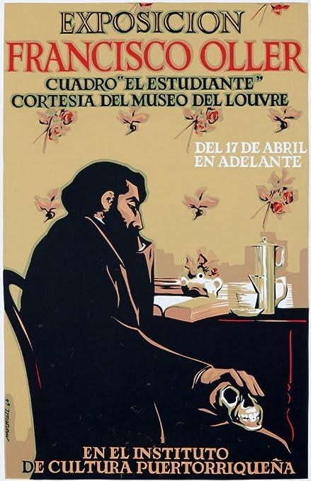 Amazon com: Exposicion Francisco Oller Vintage Poster