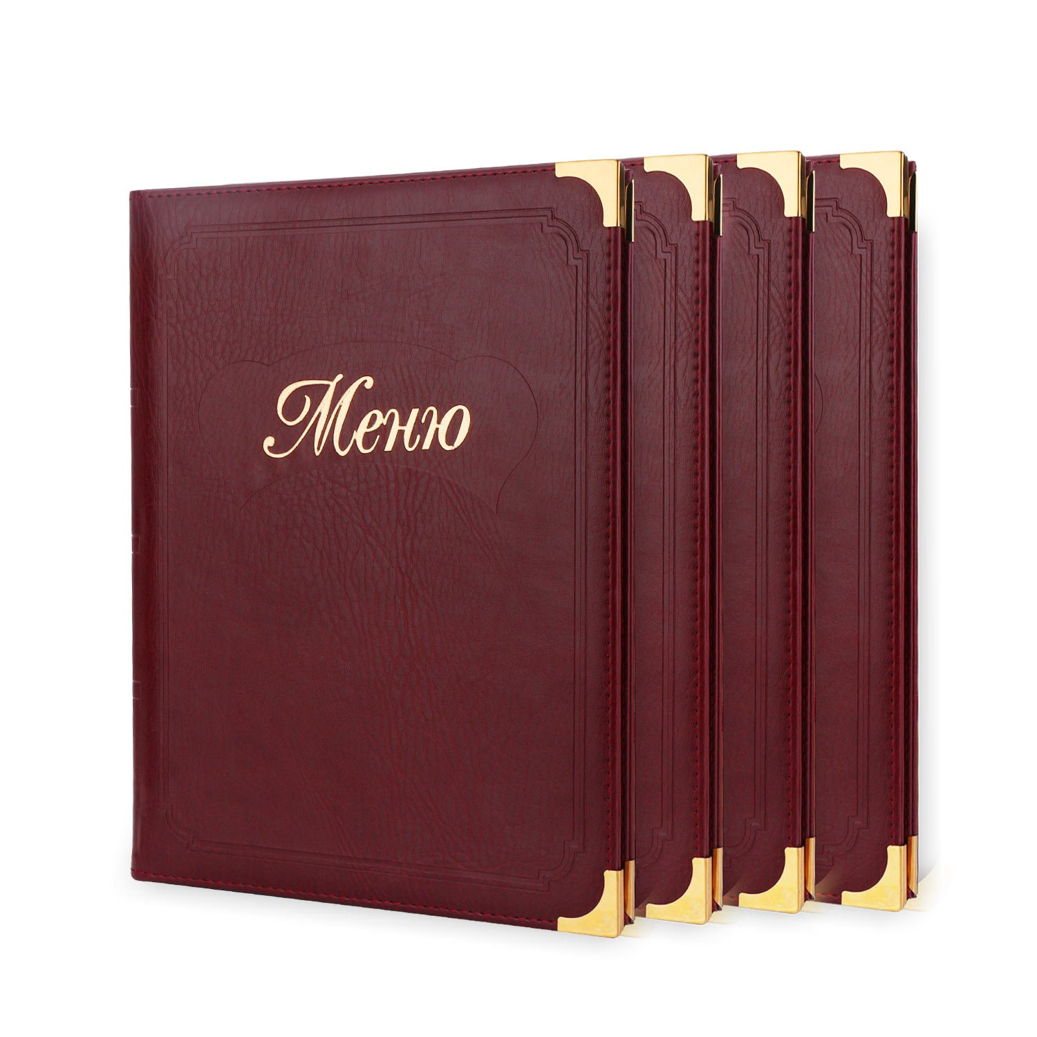 Yescom 30pcs Non-Toxic Menu Covers 8.5x11inches Black Triple Fold Book Style Cafe Bar 3 Pages 6 View BHBUKPPAZINH1695