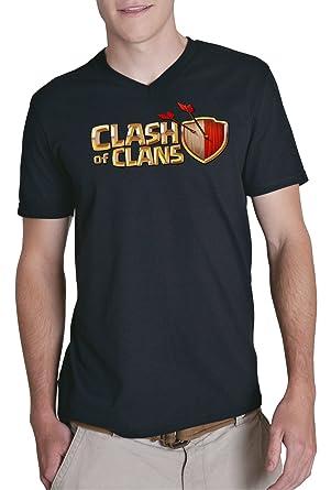 Certified Freak Clash of Clans Fan V-Neck Black S