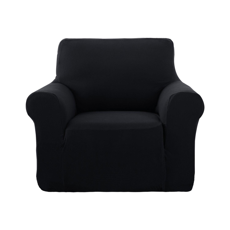 Deconovo Jacquard Sesselbezug Sofahusse überwurf Sessel Couch Husse