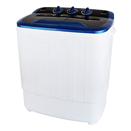 Amazon.com: KUPPET 13Ibs Portable Mini Compact Twin Tub Washing ...