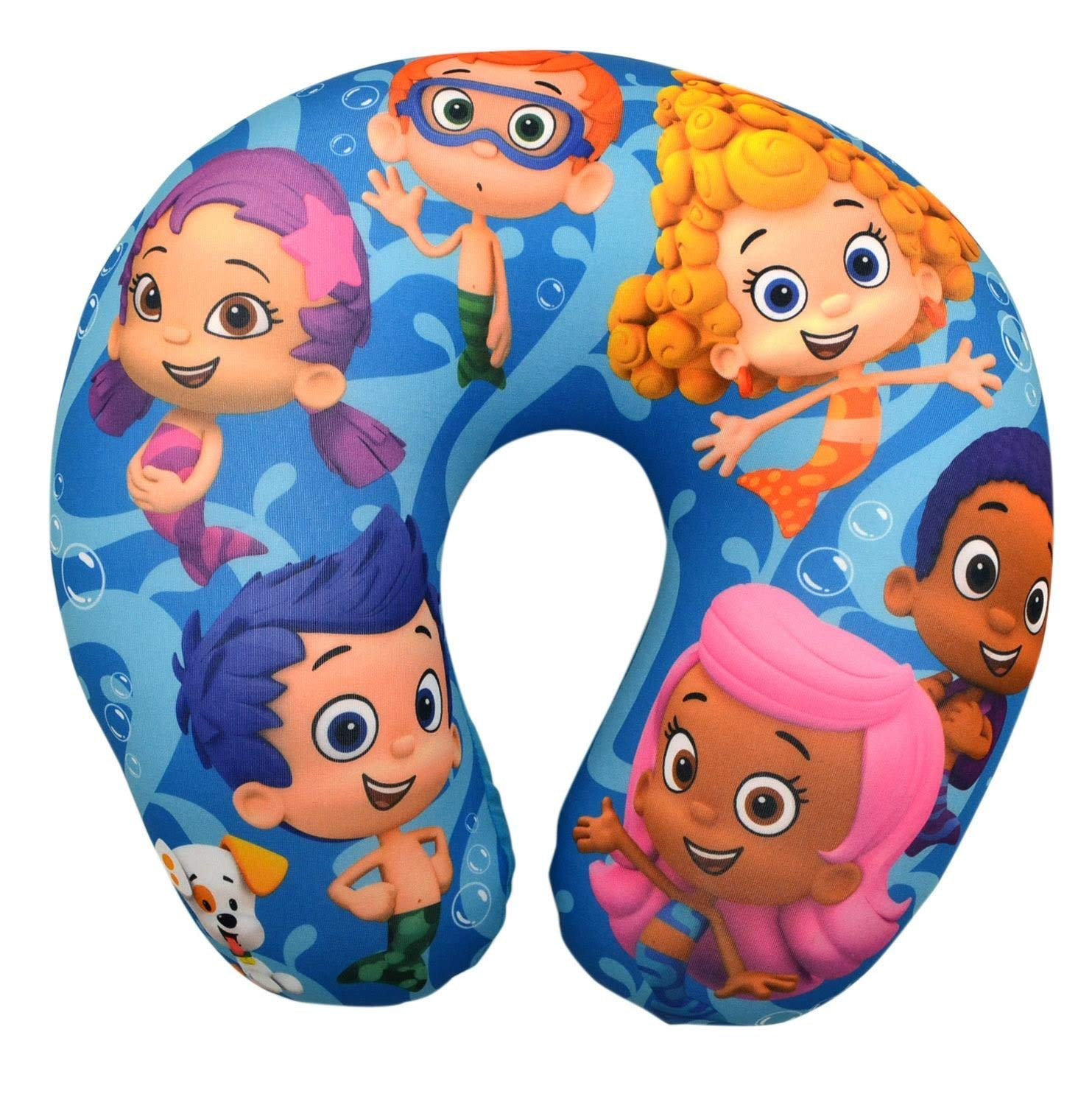 Bubble Guppies Kids' Travel Pillow New Nickleodeon