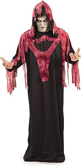 Halloween - Disfraz de Fantasma Rojo del Infierno para adultos ...