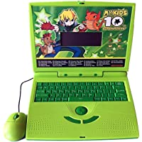 Techno Buzz Deal 22 Activities & Games Fun Laptop Notebook Computer Toy for Kids (Multi)