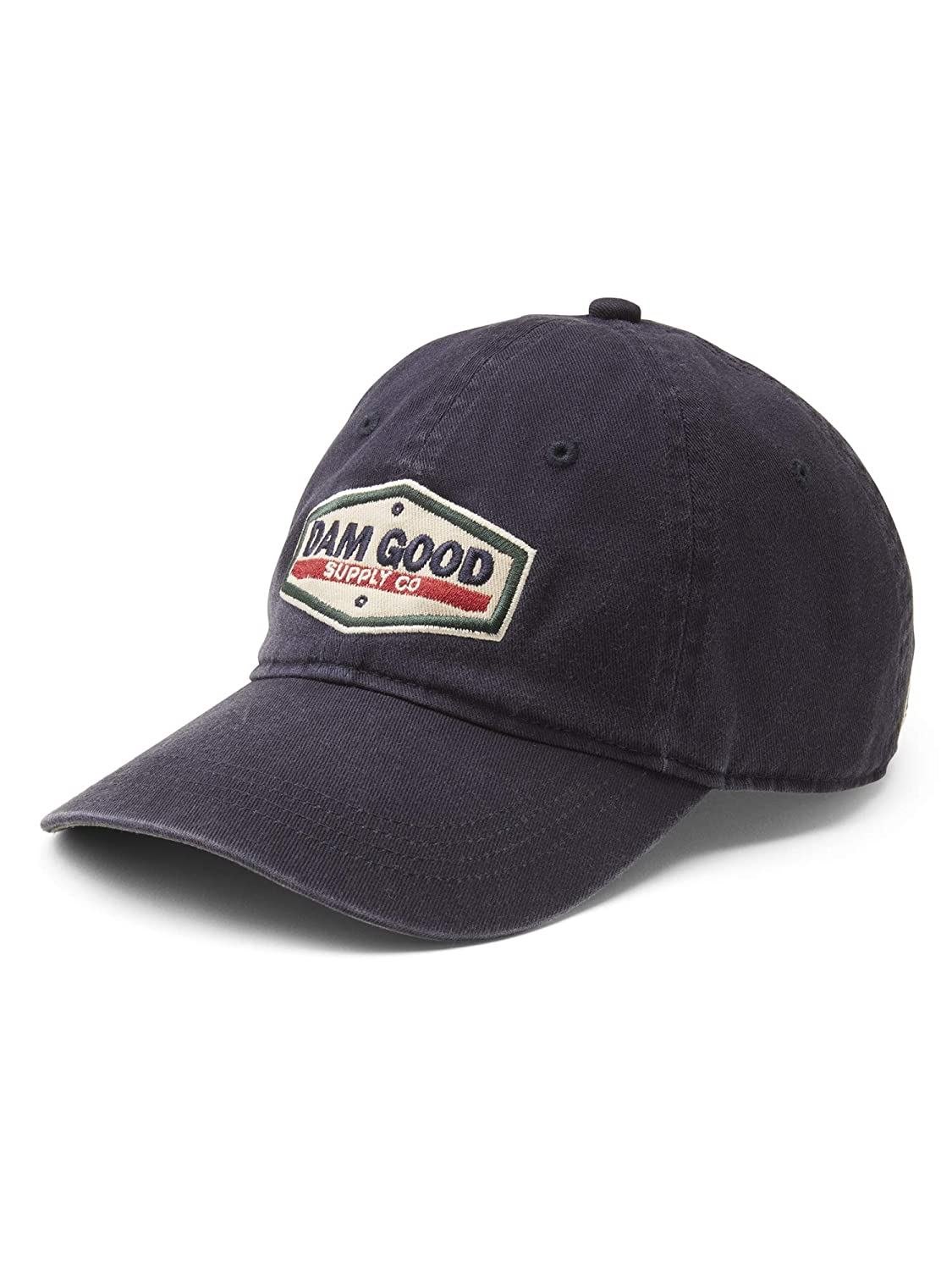 Dam Good Supply Co Mens Washed Brushed Twill Adjustable Cap