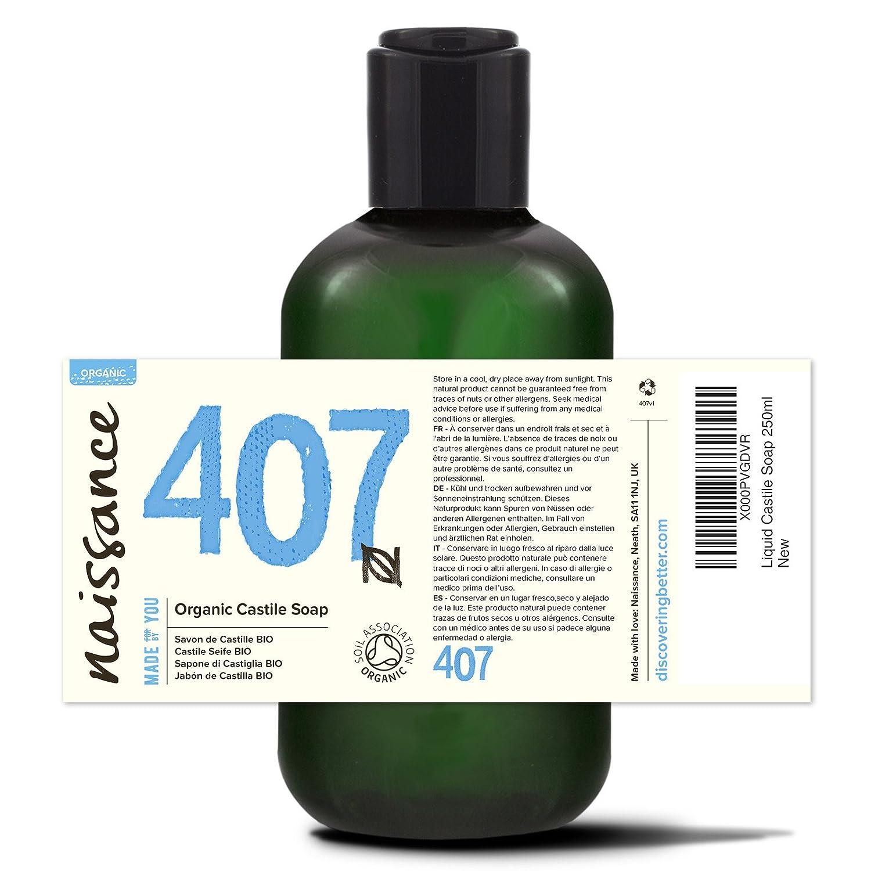 Naissance Jabón natural de Castilla BIO líquido 250ml - Vegano, sin perfumes ni sulfatos: Amazon.es: Salud y cuidado personal