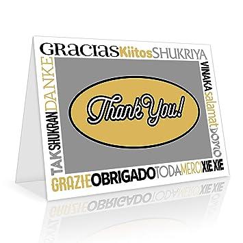 Amazon.com: Tarjetas de agradecimiento – Juego de 50 ...