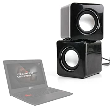 DURAGADGET Altavoces Compactos para Portátil Acer SF314-51-30Q / ASUS GL553VD-FY079T / Lenovo Yoga 510-14IKB / Acer Aspire E5-575G-73CN: Amazon.es: ...