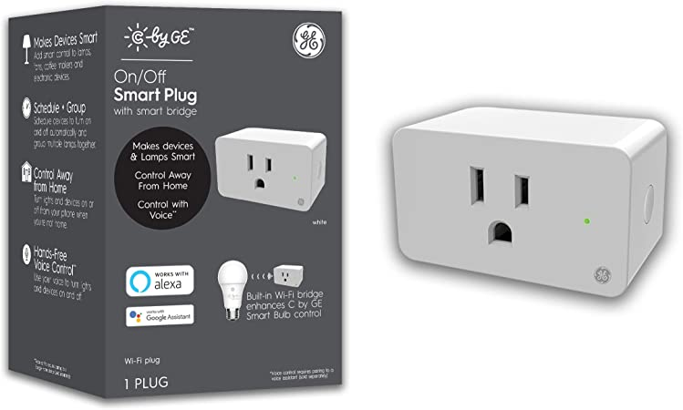 C by GE Smart Plug with Smart Bridge working with Alexa and Google Home