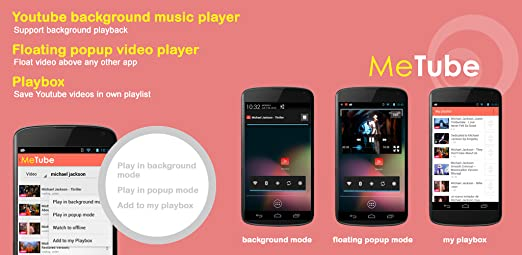 Amazon com: Metube: Player for YouTube: Appstore for Android