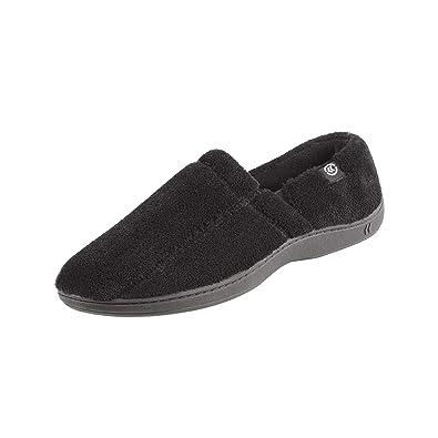 4120316c459f Isotoner Men s Microterry Slip On Slipper
