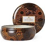 Voluspa Baltic Amber Decorative 3 Wick Tin Candle 12.0 oz