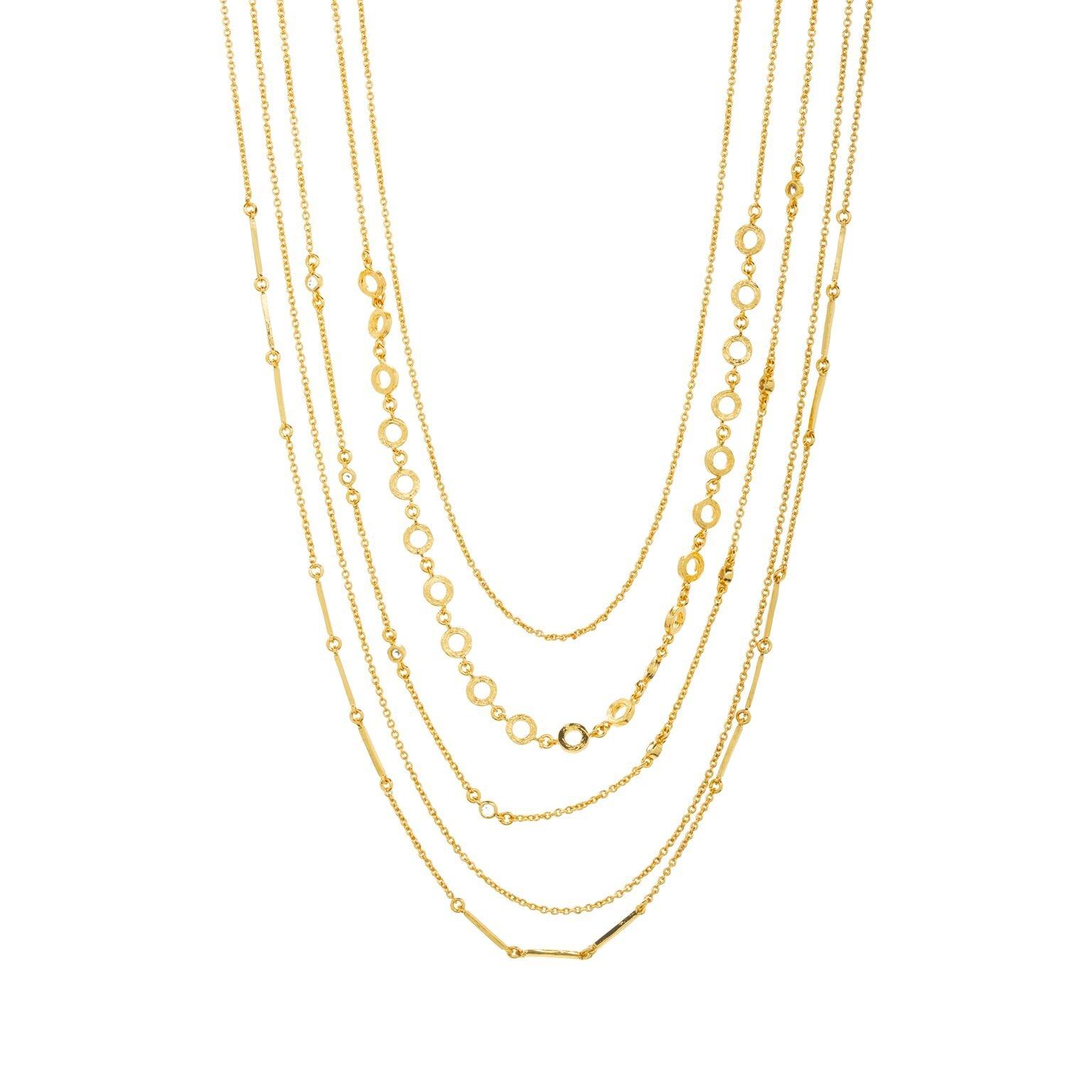 Gorjana Gold Shimmer Layered Necklace