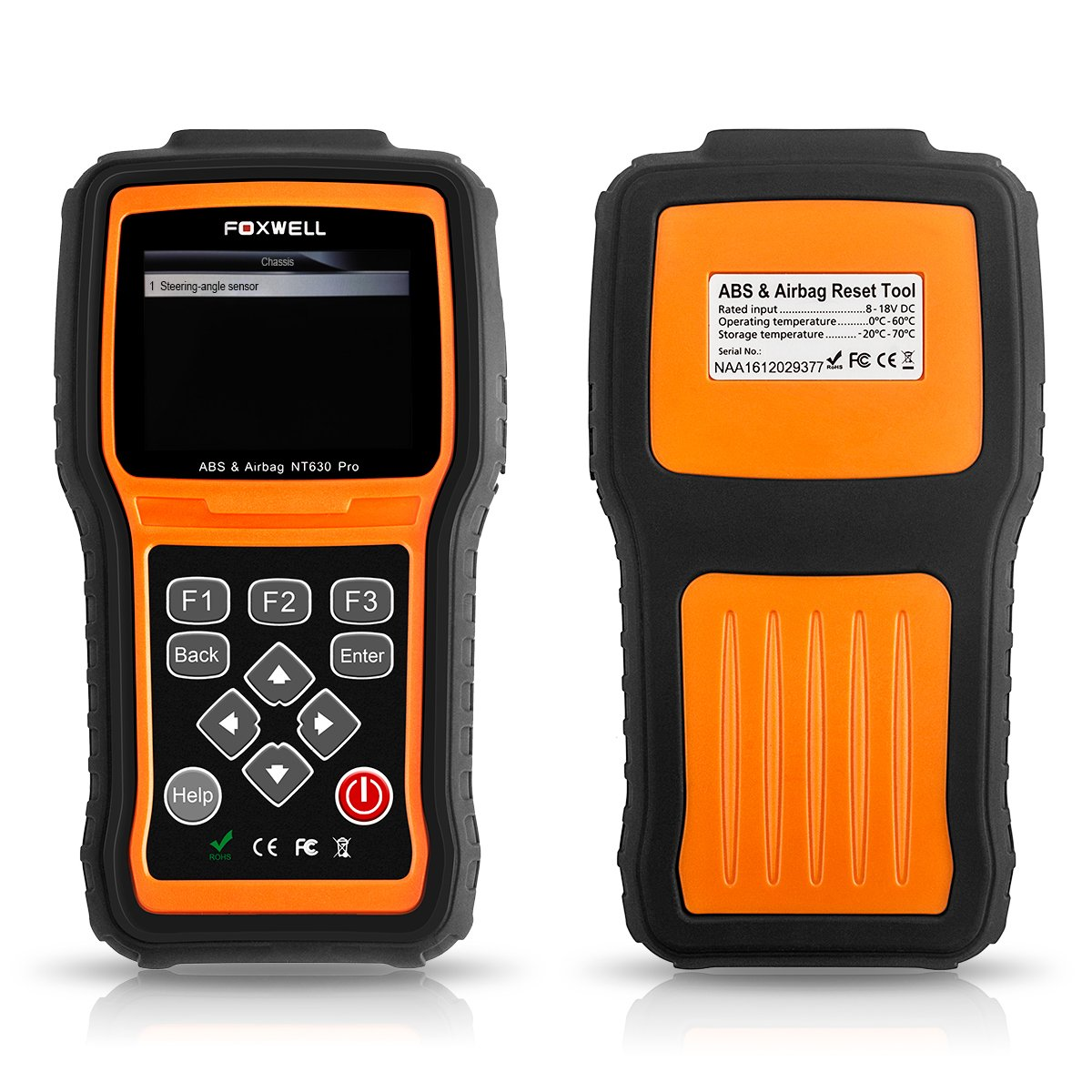 FOXWELL NT630 Scan Tool Engine / ABS / Airbag / SAS Crash Data Reset Tool  Code Reader Car Diagnostic Scanner by FOXWELL (Image #2)