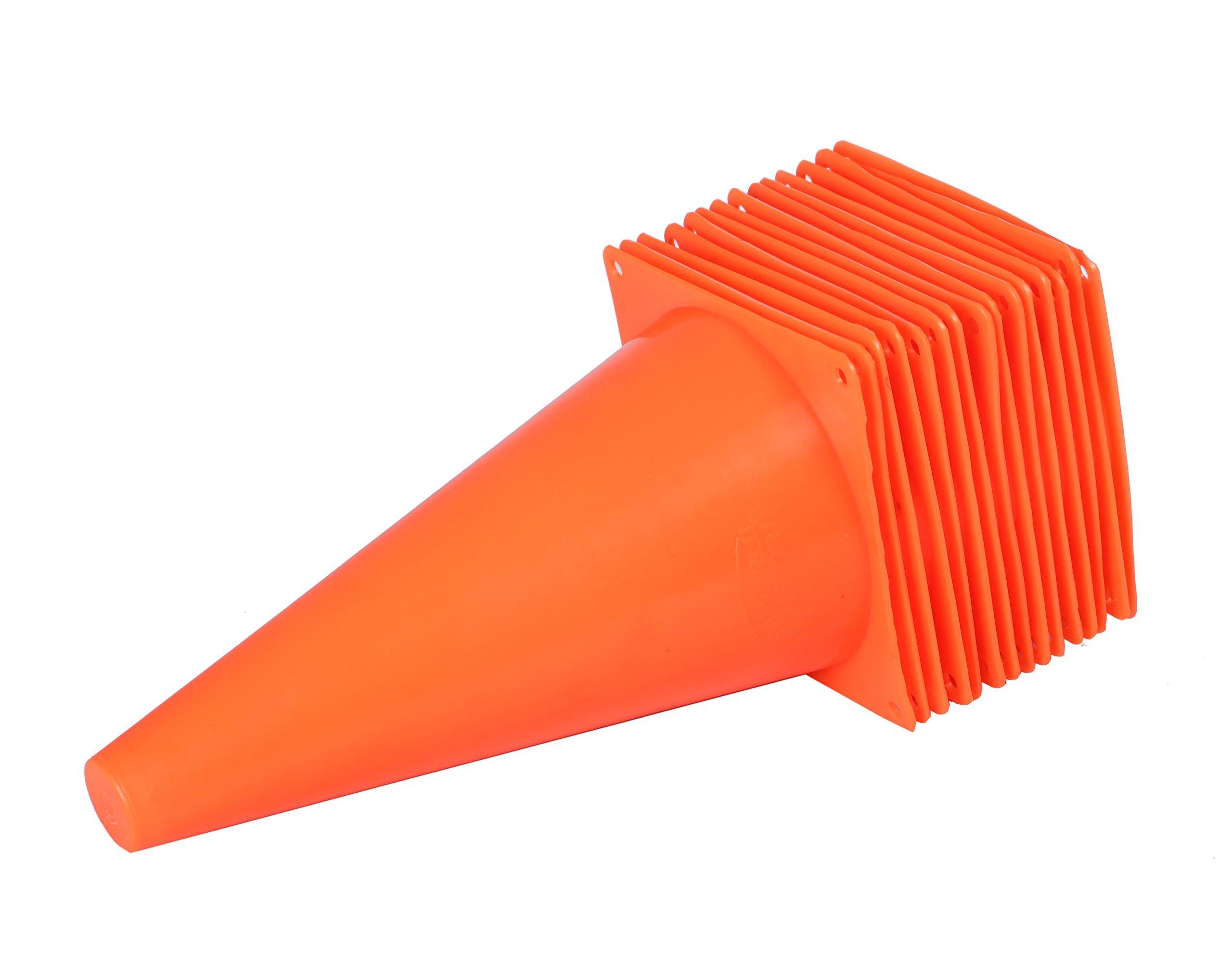World Sport Set of 15 Orange Nine Inch Cones