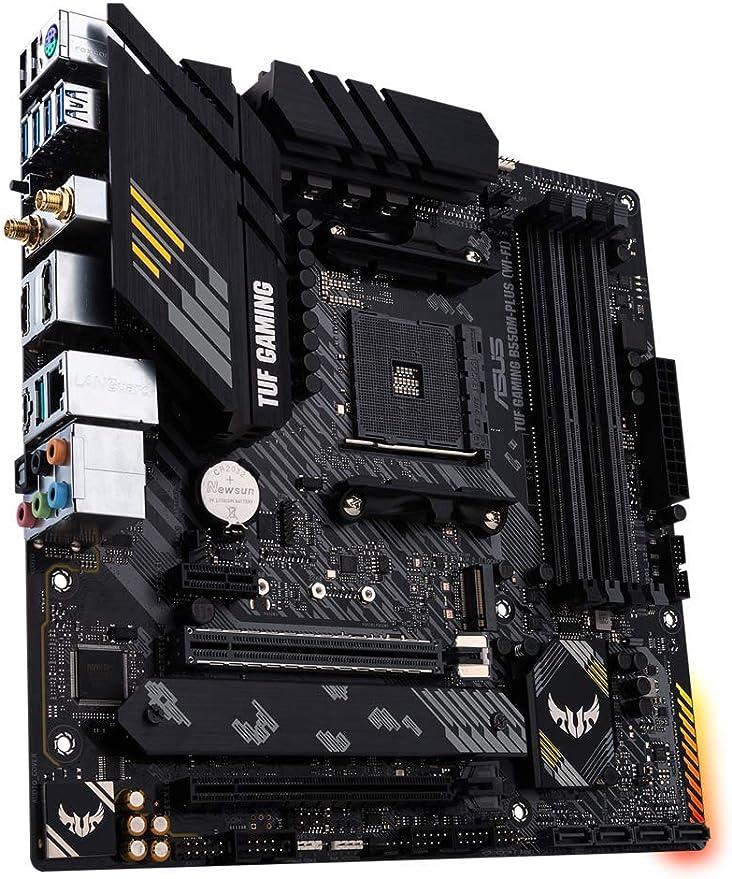 Asus Tuf Gaming B550m Plus Gaming Motherboard Socket Computers Accessories