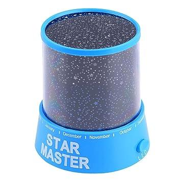 Cooshional LED Luz Nocturna de Estrellas Luz Proyector para Bebe ...