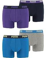 Puma Herren Basic Boxer Boxershort 4er Pack