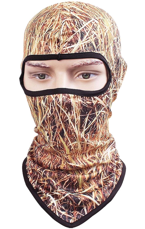 Animal Print Series Quick-Dry Mask Motorcycle Helmets Liner Ski Gear Neck Gaiter Kingree Balaclava Ski Mask 18 Skull-Angry