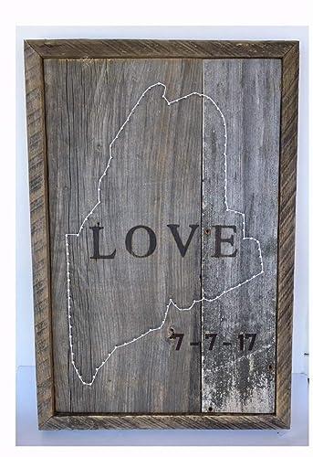 Amazon Custom Branded Wedding Sign With Brandned Wedding Date