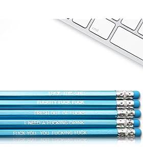 Amazon Com Offencils Profanity Pencils Funny Curse Pencils