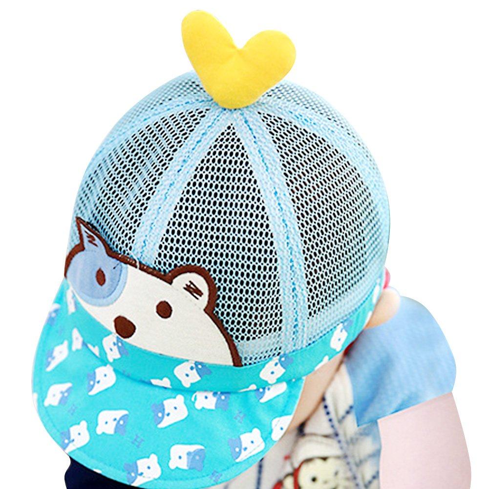 IMLECK Baby Cute Puppy Mesh Cap Sun Protection Hat