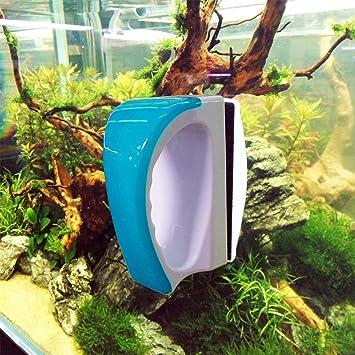 Pet Supplies Magnetic Aquarium Glass Cleaner Fish Tank Aquatic Algae Cleaning Magnet Brush