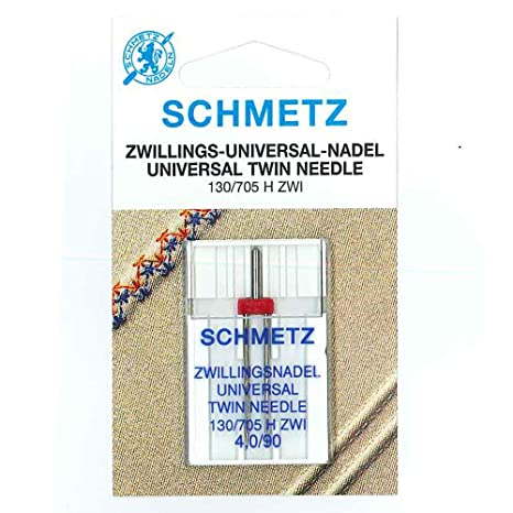 SCHMETZ doble Agujas para máquina UNIVERSAL 130/705 H-ZWI ...