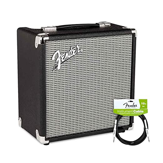 Amazon.com: Fender Rumble 210 CABINET V3 with Performance Series Instrument Cables for electric guitar, bass guitar, electric mandolin, pro audio: Musical ...