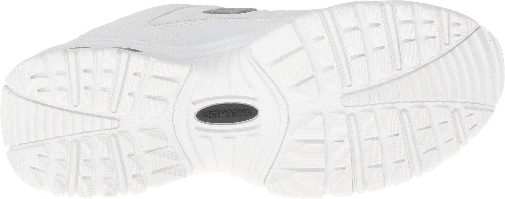 Skechers Men's Energy Afterburn Lace-Up Sneaker,White,8 M US by Skechers (Image #3)