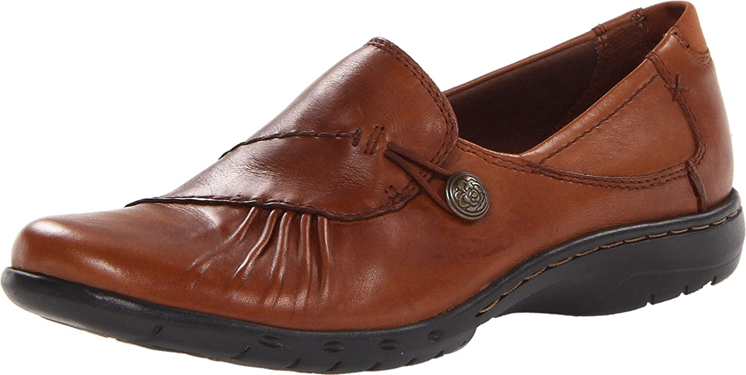 Almond Rockport Cobb Hill Women's Paulette Flat