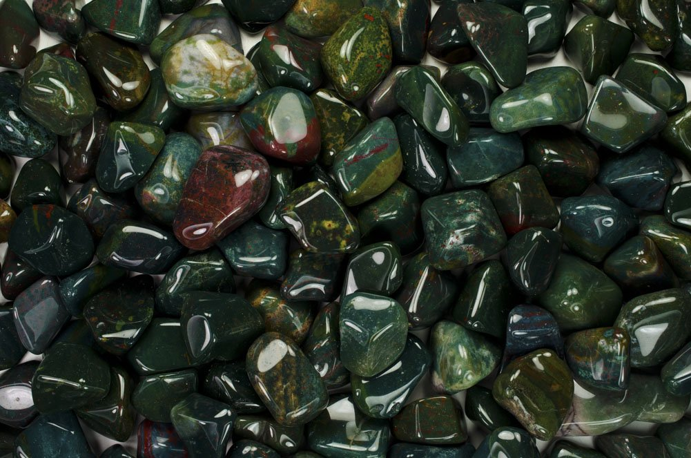 Fantasia Materials: 11 lbs Tumbled Fancy Jasper ''AA'' Grade Stones from India - Large 1'' Bulk Natural Polished Gemstone Supplies for Crafts, Reiki, Wicca and Energy Crystal HealingWholesale Lot
