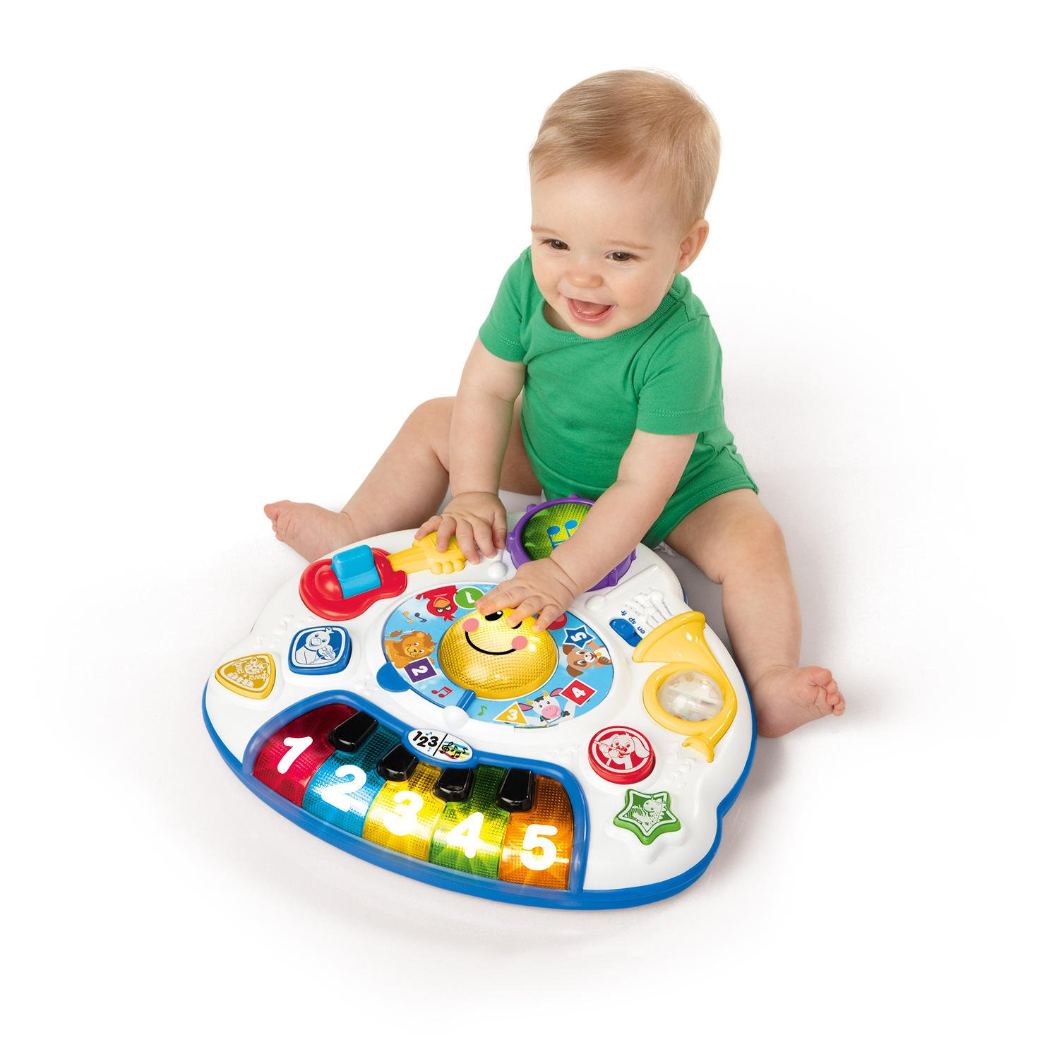 Marvelous Amazon.com : Baby Einstein Discovering Music Activity Table : Stationary  Stand Up Baby Activity Centers : Baby