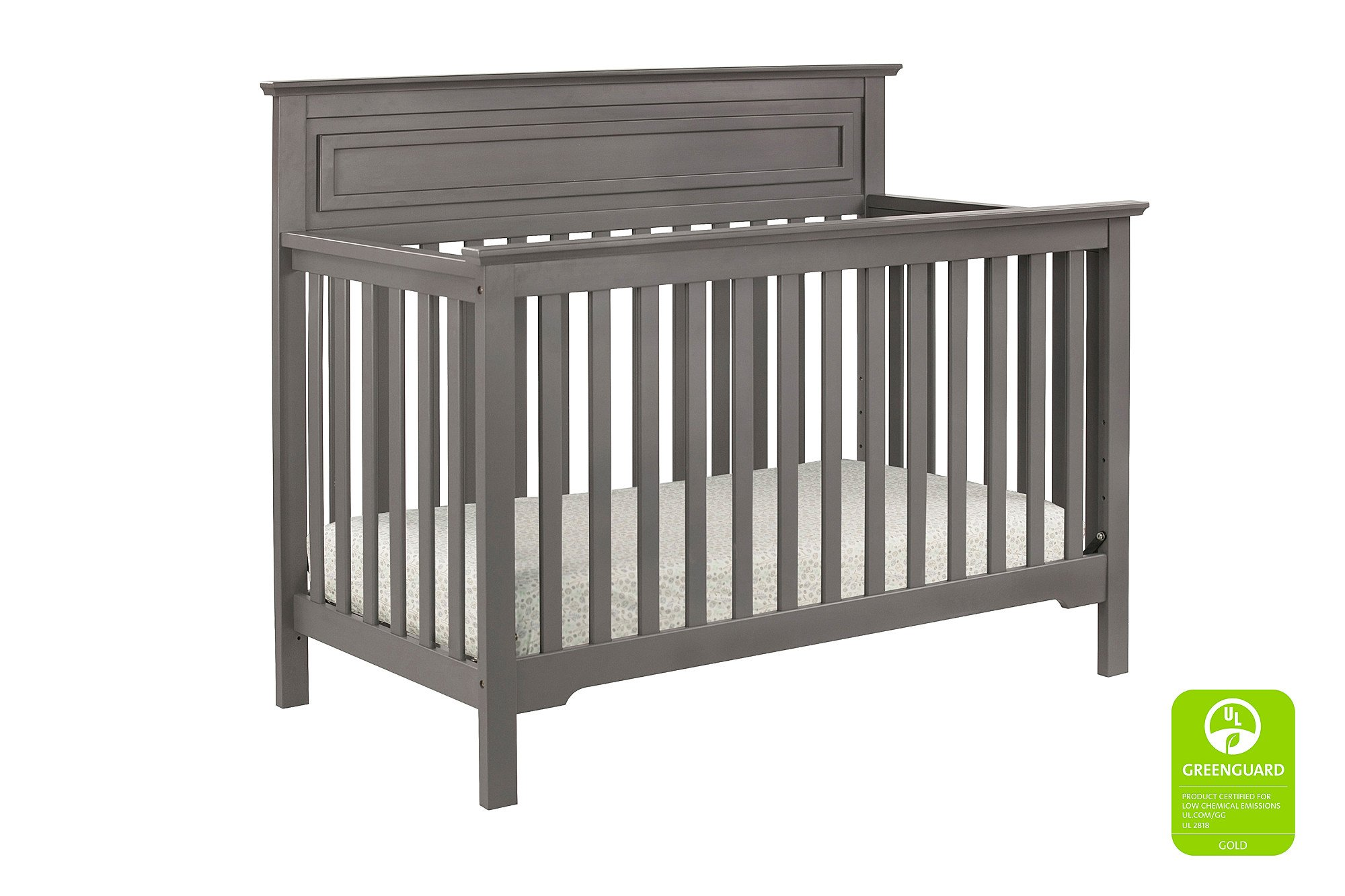 Full Size Conversion Kit Bed Rails for Davinci Autumn 4-in-1 Crib - Slate
