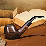 Ylyycc solid wood tobaco pipe with several accessories tobacco pipe