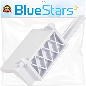 Ultra Durable 8205451 Microwave Door Latch Bracket Replacement Part by Blue Stars - Exact Fit for Whirlpool & KitchenAid Microwaves - Replaces WP8205451, W10298900.
