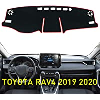 WEAR-Resistant Dash Mat Black-Red Trimming changlaiwang Dashboard Cover for Kia Soul 2014-2019 Original Non-Slip Anti-Reflective Dashboard Protector