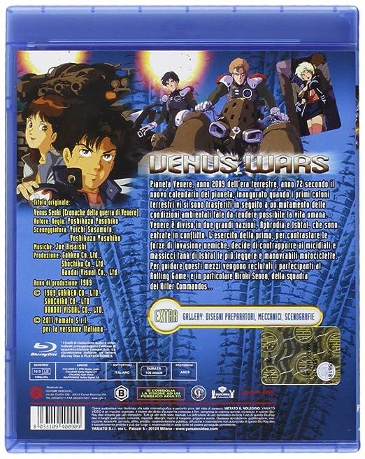 Amazon.com: Venus Wars [Italian Edition]: yoshikazu yasuhiko ...
