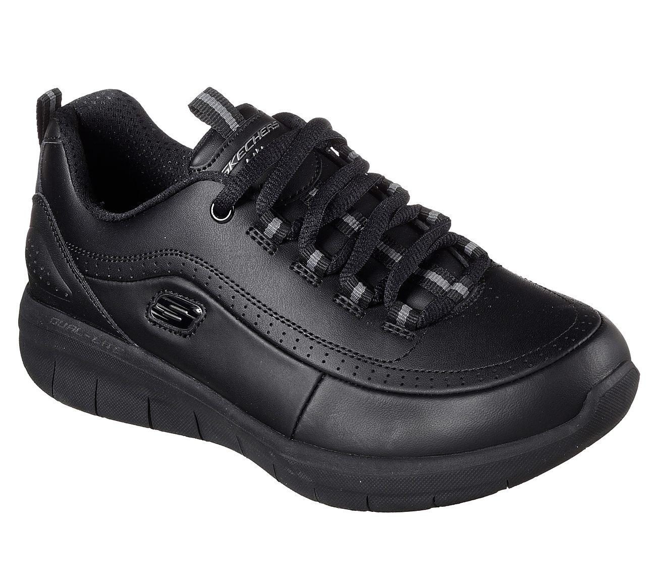 Skechers Synergy 2.0 Chain Reaction Womens Sneakers B01NBWXZD9 7 B(M) US|Black